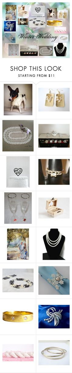 """Winter Wedding: Unique Wedding Gifts"" by paulinemcewen ❤ liked on Polyvore featuring Lenox, Chanel and vintage"