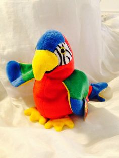 aa16a6945ac TY Beanie Baby Rare Jabber by JewelzVintage on Etsy Beanie Buddies