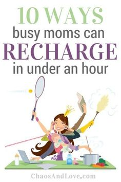 Mom life is often a series of one crazy thing after another. Check out these 10 ways to recharge your soul + an awesome gadget to recharge your phone. #giveaway #ad
