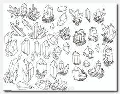 Trendy Ideas for illustration art tattoo ideas drawings Flash Tattoos, Tatoos, Illustration Cristal, Tattoo Illustration, Crystal Drawing, Illustration Inspiration, Crystal Tattoo, Tiger Tattoo, Grafik Design