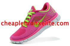 b3c522c37782 Fireberry Nike Free Run 3 Womens Electric Green 510643 601