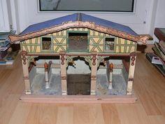 Uralter Pferdestall Moritz Gottschalck Rarität um 1900 sehr dekorativ