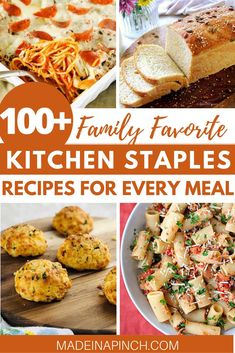 Looking for ways to use up your pantry staples? I've rounded up my favorite family-favorite pantry recipes that include easy breakfast recipes, easy dinner ideas, side dishes, snacks AND desserts. It's a great way to make kitchen staples recipes. Breakfast Recipes, Dinner Recipes, Broccoli Recipes, Chicken Recipes, Food Dishes, Side Dishes, Main Dishes, Healthy Eating Recipes, Delicious Recipes