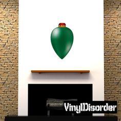 Christmas Ornament Wall Decal - Vinyl Car Sticker - 4