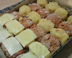 Paplanos fasírt krumplival tepsiben sütve! | Kolozsiné Kati receptje - Cookpad receptek Mashed Potatoes, Sausage, Food And Drink, Ethnic Recipes, Whipped Potatoes, Smash Potatoes, Sausages, Chinese Sausage