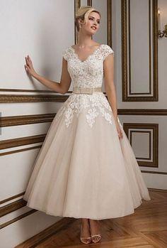 Vestidos de novia para una boda civil