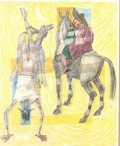 Don Quixote by Candido