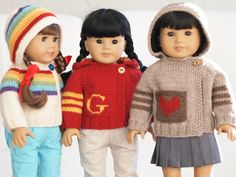 Spirit Sweater for American Girl Dolls by Jay Bird Finnigan, via Flickr