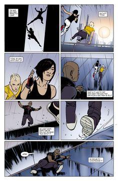 Mirror's Edge: Exordium Issue #3 - Read Mirror's Edge: Exordium Issue #3 comic online in high quality