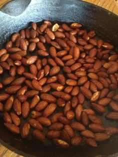Smokehouse Almonds - coconut oil, garlic powder, salt and liquid smoke