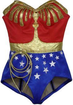 Lynda Carter Wonder Woman CBS Costume Replica