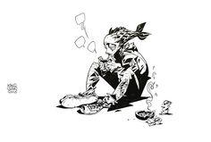Live drawing by Kang Goon Devil planet's character 'MEME', 강민정[KANGKOON] 아틈 강사 https://www.facebook.com/kanggoonart https://www.instagram.com/kanggoonart http://cafe.naver.com/arteum/3050