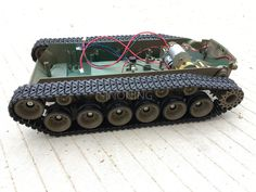 Cheap robot tank chassis, Buy Quality tank chassis directly from China robot platform Suppliers: Supper big Robot Tank Chassis Crawler Smart robot platform henglong 3838 large damping suspension Robot Platform, Bamboo Fountain, Big Robots, Arduino Projects, Diy Projects, Super Cool Stuff, Robotics Engineering, Rc Tank, 3d Cnc