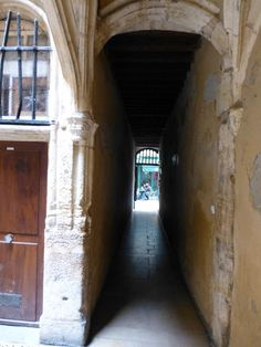 Lyon - French Food, History, and Roman Theaters: Covered Passageways (Traboules) of Old Lyon