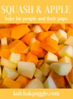 Squash and apples for pets and people