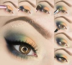 Eye Makeup Tutorials~love these colors~