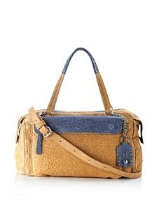 Olivia Harris Women's East/West Satchel (Stone)
