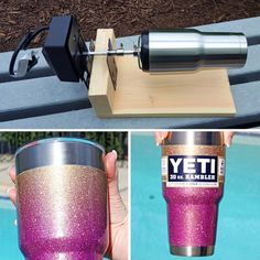 Yeti Glitter Machine Diy Tumblersglitter