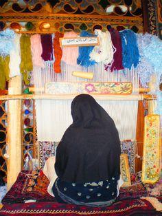 Weaving Dreams, Isfahan, Iran