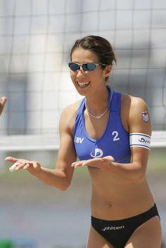 【ビーチバレー】浦田聖子(うらた さとこ)さんの画像177枚 - NAVER まとめ Women Volleyball, Beach Volleyball, Muscle Girls, Female Athletes, Sports Women, Bikinis, Sexy, Fashion, Sports