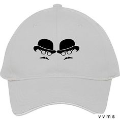 New Fashion Unisex Plain Baseball Caps Bowler Hat Man Duel Two Men Glasses And Moustaches Cotton Peaked Hat Casual Outdoor Travel Snapback