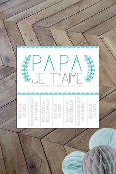 Carte Maman I love you Dad I love you I wish you the most beautiful holiday Mother Card, Mother And Father, Love You Dad, Mom And Dad, Cadeau Parents, Mather Day, Mother's Day Activities, Mom Cards, Fathers Day Crafts