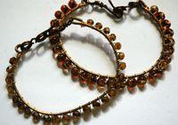 Free Beading Project: Easy Wire Wrapped Cuff Bracelet Wed, Aug 8 2012 by Jennifer VanBenschoten