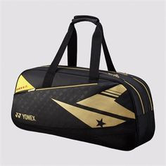 YONEX - BAG01WLDEX Pro Tournament Bag http://www.yonexusa.com/sports/badminton/products/badminton/lin-dan-exclusive/bag01wldex-pro-tournament-bag/