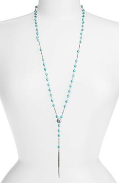 Chan Luu Long Y-Necklace available at #Nordstrom