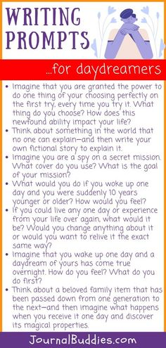 These writing prompts for all ages are great for students and adult writers alike—and with so many to choose from, you'll have journaling inspiration for months to come! #WritingPromptsFor... #WritingPrompts #JournalPrompts #JournalBuddies Middle School Writing, Writing Promps, Paragraph Writing, Narrative Writing, Informational Writing, Opinion Writing, Persuasive Writing, Writing Workshop, Writing Ideas