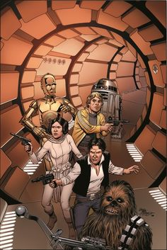 30 Pieces of Variant Cover Art for Marvel's STAR WARS