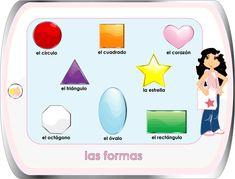 Spanish for Kids / Español Para Niños - Shapes
