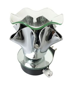 Electric Glass and Stainless Steel Oil Warmer