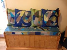 Timeless Textiles - Seat and cushions with their new family x loved doing this xx