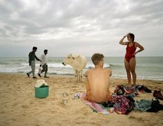 """""""Goa, India"""" from """"Small World"""" © Martin Parr / Magnum Photos Martin Parr, Magnum Opus, Documentary Photographers, Great Photographers, Magnum Photos, Beach Photography, Street Photography, Color Photography, Liverpool"""