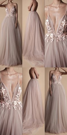 Prom Dresses, Long Prom Dresses, Prom Dresses , Backless Prom Dresses Mauve floral wedding dress with tulle Related posts:Simple chiffon long prom dress evening dressstunning silver sequined prom dresses, sexy deep v neck prom. Backless Prom Dresses, Grad Dresses, Trendy Dresses, Elegant Dresses, Beautiful Dresses, Evening Dresses, Formal Dresses, Wedding Dresses, Dress Prom
