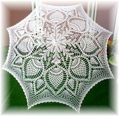 Ideas para tejer paraguas o sombrillas decorativas dan a ese lugar que elijas una óptica mágica como maravillosa ,puedes usar cualquier...