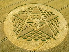 A comprehensive showcase of the magnificent beauty and complexity of crop circles. Their origin remains a mystery for some, but their beauty is undeniable. Crop Circles, Aliens And Ufos, Ancient Aliens, Alien Art, Circle Design, Geometric Shapes, Geometric Patterns, Sacred Geometry, Beautiful World