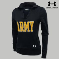 Under Armour Army Women's Varsity Hood buying this with my next bonus!