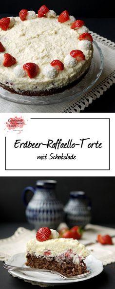 Erdbeer-Raffaello-Torte | Backen | Rezept | Kuchen