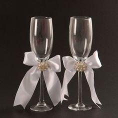 Champagne Glass Set Pearl www.bunchesforafrica.com