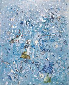 'Milagre dos peixes', Adriana Varejão, 1991.
