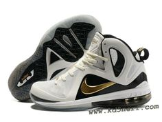 the latest 195d3 0f732 Nike LeBron 9 P.S. Elite Shoes White Gold Gold Basketball Shoes, Best  Sneakers, Air