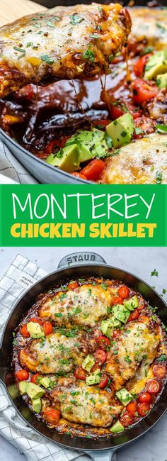 Monterey Chicken Skillet