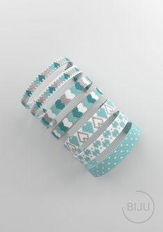 bead patterns for bracelets Peyote Beading Patterns, Loom Bracelet Patterns, Bead Loom Bracelets, Bead Loom Patterns, Loom Beading, Jewelry Patterns, Weaving Patterns, Beaded Jewelry, Seed Beads