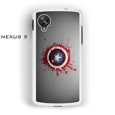 Captian america shield for Nexus 4/Nexus 5 phonecases