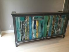 #Painted, #PalletBar, #RecycledPallet