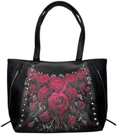 61a06a251 Bolso Blood Rose de Spiral Direct #gotico #goth #roses #spiraldirect #moda