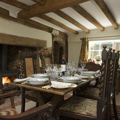 cosy dining room