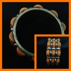 Orange Indian style kada from Mir handicrafts for Rs. 550.